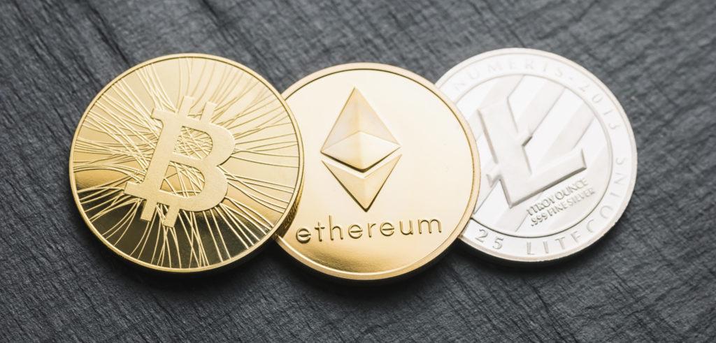 Three cryptocurrencies