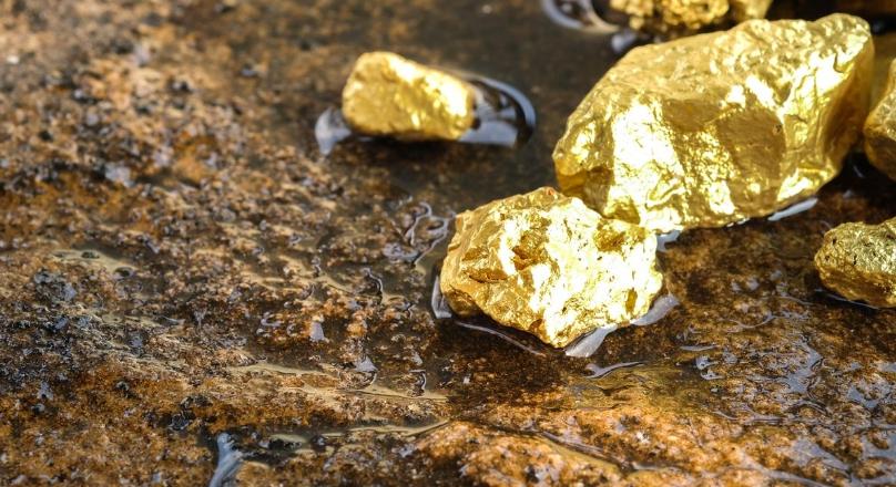 Mined Gold Crypto Tokens